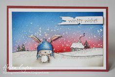 purpleoniondesigns - Stacey Yacula Studio - Snow Cabin, $7.75 (http://stores.purpleoniondesigns.com/stacey-yacula-studio-snow-cabin/)