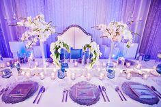 Disney themed Frozen wedding http://ruffledblog.com/disney-fairy-tale-weddings