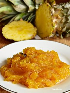 Pineapple jam for pineapple Tarts or Kuih Tart