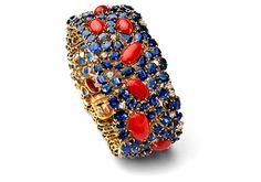 Armband Gelbgold Saphire Brillanten Schmuck - Fochtmann