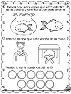 Preschool Spanish Lessons, Preschool Writing, Math Literacy, Teaching Spanish, Preschool Activities, Kindergarten Centers, Math Centers, Simple Math, Math For Kids