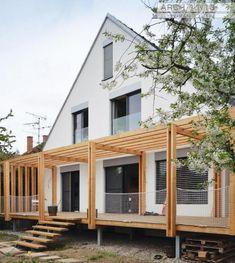 toito architekti - rekonstrukce rodinného domu Saal - exteriér, foto © Ivan Príkopský