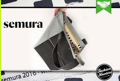 Semura is a Spanish Bag Label. Elegant yet functional geometry, drawn in leather, house organic cottons and signature, colourful patterns. With Semura, the inside is as important as the outside. Fashion Brands, Fashion Online, Fashion Labels, Jewelry Branding, Shoe Brands, Cool Style, Footwear, Instagram Posts, Spain