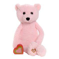 ade9df67d7e Vintage Pink Bear. My Baby s Heartbeat Bear