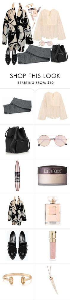 """""""Sin título #1827"""" by mussedechocolate ❤ liked on Polyvore featuring Chloé, 3.1 Phillip Lim, Sunday Somewhere, Maybelline, Laura Mercier, Chanel, Zara, Smith & Cult and Kendra Scott"""