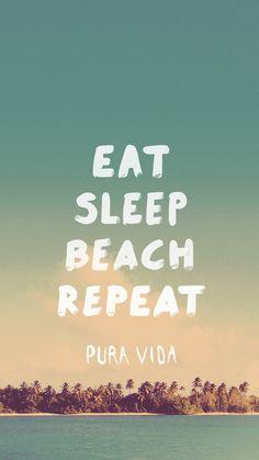 Comer Cormir Playa Repetir