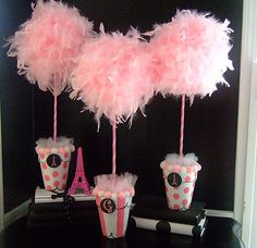 Party Frosting: Parisian Pink Poodle Party Theme