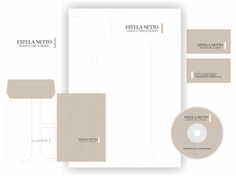 design por katianey / kátia ney DE SENVOLVIMENTO logomarca e papelaria ESTELA NETTO ARQUITETURA & DESIGN #design   #designkatianey