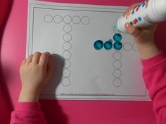 Bingo dabbing T's