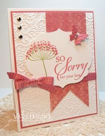 It's a Stamp Thing: Stamping 411......So Sorry Sympathy Card