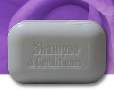 Shampoo & Conditioner Bar ... bought this today...going to try this and then start making my own stuff :)