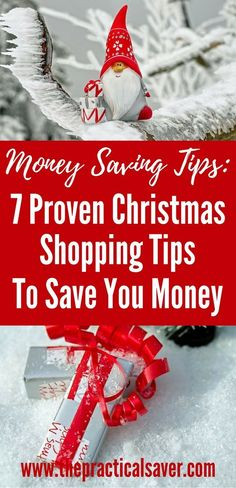 Want to save money during Christmas season? This post describes steps to save you money from purchases you make. Simple money saving strategies that reduce your holiday expenses. #strategy #money