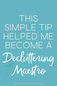 Do you struggle with decluttering? If so, you're in good company. I hated decluttering. But I realised that my stuff was literally costing me money so I had to declutter. Now I ask myself this one question everytime I'm unsure whether to keep an item or not. It makes decluttering so easy, you should try it.