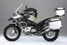 BMW GS 1200 Adventure - my sister would love this