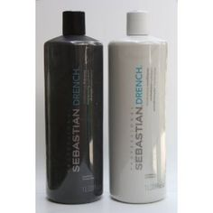 This shampoo and conditioner saved my  hair - no joking.  I have extremely long hair and it tangles very easily.  I love the way my hair looks, feels and smells with this Drench product.