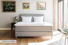 Das Boxspringbett von Bruno vereint klares Design und handwerkliche Raffinesse. ✓Kostenlose Lieferung ins Schlafzimmer ✓30 Tage probeliegen ✓10 Jahre Garantie.