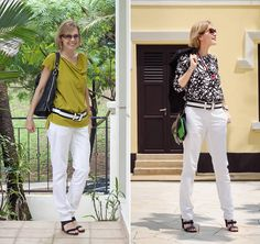 How to wear white pants? Lots of inspiration and ideas!
