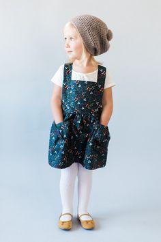 Ayla niño delantal vestido  niño  niñas Vintage vestido-2T