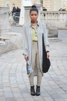 oversized cardi/shawl- american apparel