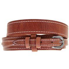 "1-3//8/"" Wide Concho Ranger Genuine Leather Jean Cowboy Belt Waco Texas Star"