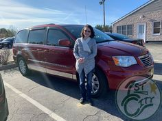 Congratulations Rebecca, we hope you love your 2013 Chrysler Town & Country! Rebecca picked up her van from our 4 Flagg Road location today. Chrysler Town And Country, City Car, Used Cars, Congratulations, Van, Trucks, Happy, Vans, Truck