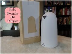 Baby Penguin Sparoma Anypro Oil Aroma Diffuser Unboxing & Review
