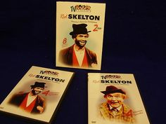 Red Skelton TV Classics Two DVD Set Pristine Condition | eBay