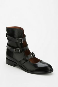 Jeffrey Campbell McGovern Buckled Ankle Boot #urbanoutfitters