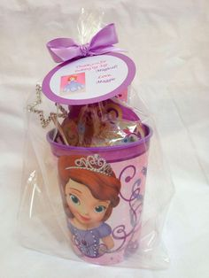 Items similar to Sofía las primeras Party Favors on Etsy Princess Sofia Birthday, Sofia The First Birthday Party, Third Birthday, 4th Birthday Parties, Princess Party, Birthday Ideas, Fete Audrey, Party Favors, Monster Party