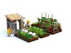 LEGO Ideas - Vegetable Garden