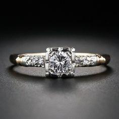 .30 Carat Mid-Century Diamond Engagement Ring - 10-1-4770 - Lang Antiques