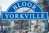 Bloor – Yorkville is a district in Toronto