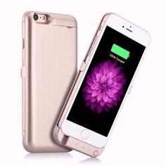 メルカリ商品: 【未開封品】iPhone 6/6s用バッテリーケース 3000mAh(ゴールド) #メルカリ