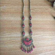 I just discovered this while shopping on Poshmark: LF Vintage Red Turkish Tribal Necklace!. Check it out!  Size: OS