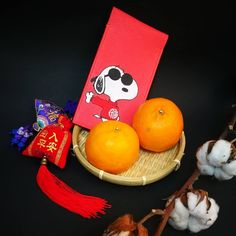 Bespoke red packet ready for send out for our belove client.  #snoopy