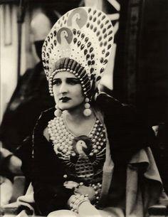 Carmel Myers - 1925 - Ben Hur -  Costume design by Erté aka Romain de Tirtoff
