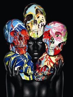 Rankin and Damien Hirst