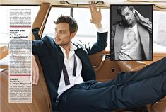 Quite possibly the main reason we watch Criminal Minds each and every week. (Spencer Reid aka Matthew Gray Gubler)