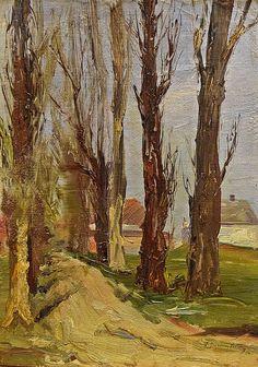 Arthur (Garguromin) Verona (1868-1946) - Copaci / Trees