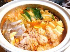 ブリ+豚肉+つくね+豆腐+野菜大量♡ - 3件のもぐもぐ - スンドゥブ by srairo