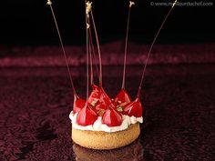 Tartelette en fraises d'amour