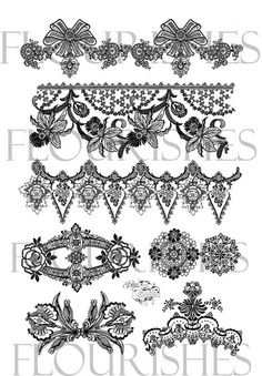 drawing lace - Google Search