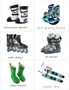 woordkaartjes schoenen 3