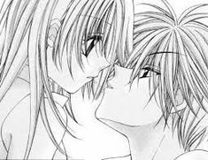 can't remember the anime First Kiss Anime One, I Love Anime, Chibi, First Kiss, New Details, Anime Couples, Kawaii Anime, Coloring Pages, Animation