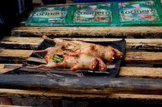 перуанская кухня: куй - печеная морская свинка