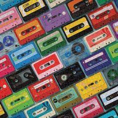 Mixtapes 1000 Piece Puzzle
