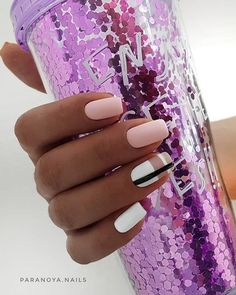 Nail Design for Summer 2019 New Ideas for Summer Manicure The Latest Trends in Summer Nail Art in The Photo GlamAdvice Summer Acrylic Nails, Cute Acrylic Nails, Acrylic Nail Designs, Summer Nails, Cute Nails, Nail Art Designs, Nails Design, Stylish Nails, Trendy Nails