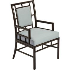 McGuire Furniture: Barbara Barry Ceremony Arm Chair: M-272