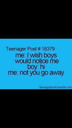 Teenage quote