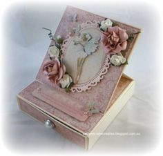 Easel Card Box by Cathy Mc - Cards and Paper Crafts at Splitcoaststampers
